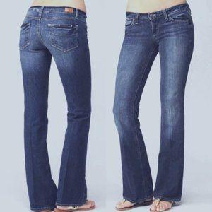 PAIGE Laurel Canyon low-rise bootcut jeans | 26